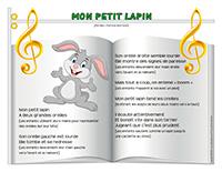 Chanson-Mon petit lapin