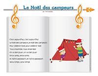 Chanson-Noël des campeurs