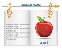 Chanson-Pomme de reinette-le son I