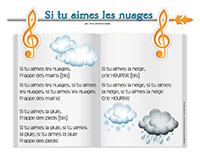 Chanson-Si tu aimes les nuages