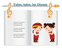 Chanson-Tchin, tchin, les Chinois
