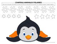 Chapeau-Animaux polaires