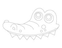 Chapeau de crocodile