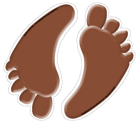 Chemin de chocolat