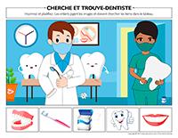 Cherche et trouve-Dentiste