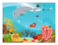 Cherche et trouve-Les crustacés