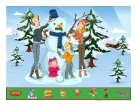 Cherche et trouve-Les vacances de Noël
