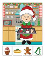Cherche et trouve–Noel-la cuisine