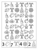 Cherche et trouve à colorier-Noël-Jeux libres