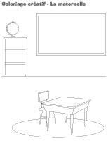 Coloriage créatif - La maternelle