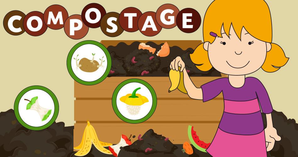 Le compostage, activités pour enfants. | Educatout