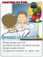 Comptine - Brosse les dents