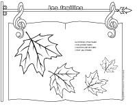Comptine - Les feuilles