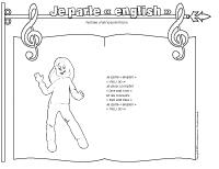 Comptine-Je parle english