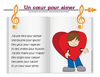 Comptine-Un cœur pour aimer