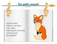 Comptine-Un petit renard