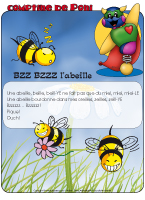 Comptine de Poni - Les abeilles