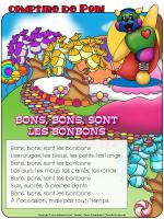 Comptine de Poni - Les friandises