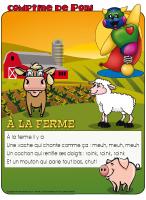 Comptine de Poni-À la ferme