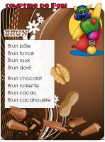 Comptine de Poni-Aout en brun