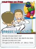 Comptine de Poni-Brosse les dents
