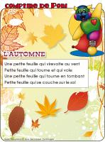 Comptine de Poni-L'automne