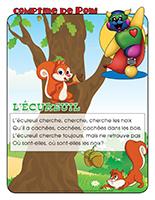 Comptine de Poni-L'écureuil