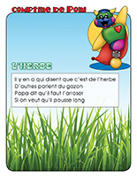 Comptine de Poni-L'herbe