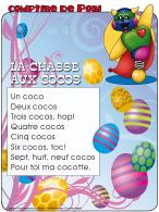 Comptine de Poni-La chasse aux cocos