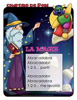 Comptine de Poni-La magie