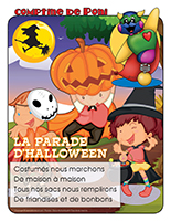 Comptine de Poni-La parade d'Halloween