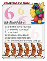 Comptine de Poni-Le chiffre 6