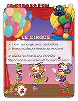 Comptine de Poni-Le cirque
