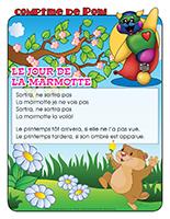 Comptine de Poni-Le jour de la marmotte