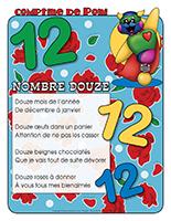 Comptine de Poni-Le nombre 12