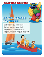 Comptine de Poni-Le transport nautique