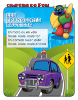Comptine de Poni-Le transport routier