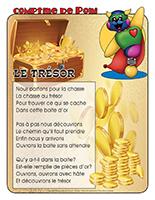 Comptine de Poni-Le trésor