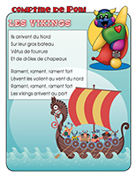 Comptine de Poni-Les Vikings