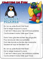Comptine de Poni-Les animaux polaires