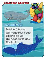 Comptine de Poni-Les baleines