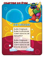 Comptine de Poni-Les bulles