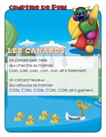 Comptine de Poni-Les canards