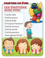 Comptine de Poni-Les émotions avec Poni