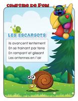 Comptine de Poni-Les escargots