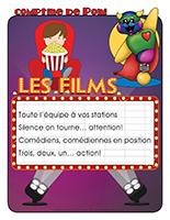 Comptine de Poni-Les films