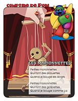 Comptine de Poni-Les marionnettes