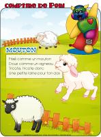 Comptine de Poni-Les moutons