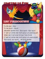 Comptine de Poni-Les perroquets