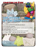 Comptine de Poni-Les roches et minéraux